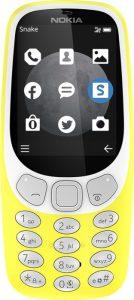Nokia 3310 Yellow variant