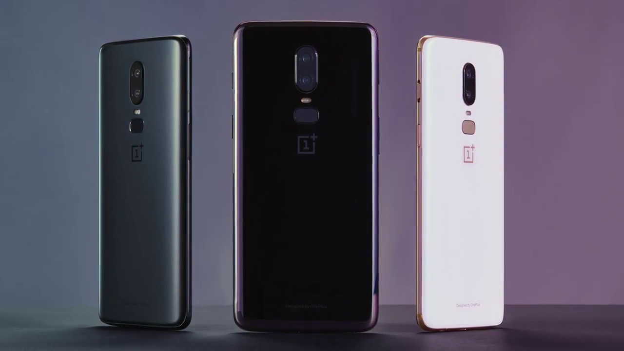 OnePlus 6 Color Options