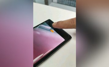 Oppo In-display Selfie Camera