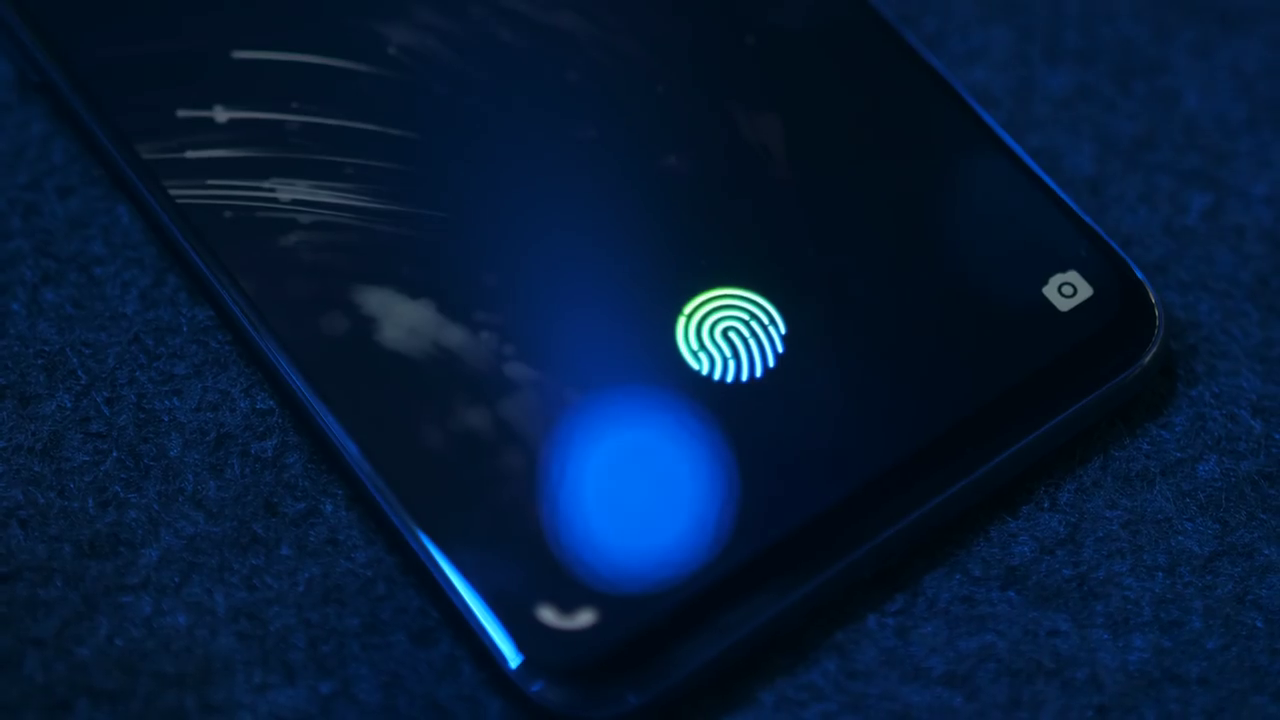Vivo NEX Fingerprint Sensor